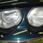 【ヘッドライト研磨】ローバー・75(Rover 75 )