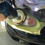 【ヘッドライトクリア塗装】黄ばみ、くすみを解決!!平成12年式ロードスター