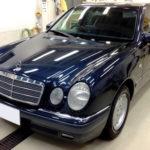 【コーティング】M.Benz W210 平成11年式も新車並みの美しさへ!