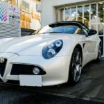 【GENESISコーティング】Alfa Romeo 8C Spider