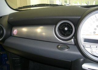 ミニクーパーR55 R56のストレージBOX