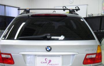 BMW 325i E46にスモーク断熱フィルムを施工しました。