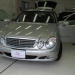 コーティングが完了したMercedes-Benz Eクラス ワゴン ブリリアントシルバー