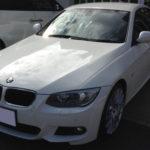 【コーティング】BMW 335i E92 アルピンホワイト