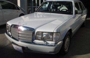 コーティングを施工した1989年式メルセデス・ベンツ 560SEL(W126)