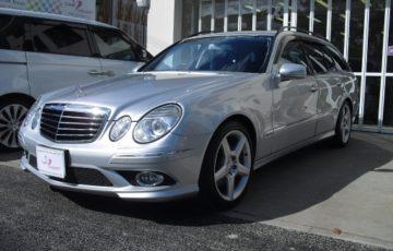 コーティングを施工したMercedes-Benz E wagon(W211)