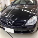 【ガラスコーティング】M.Benz SLK 最新クリーナーの威力!