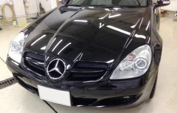 コーティングできれいになったMercedes-Benz SLK
