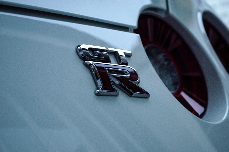 ボディ・ホイールなどにコーティングを施工した日産 GT-R R35