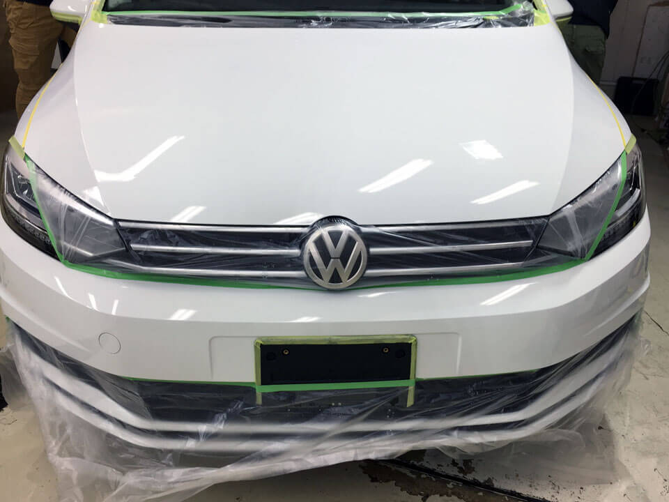 Volkswagen Touran coating