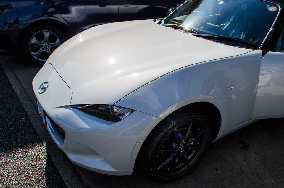 mazda ROADSTER coating after