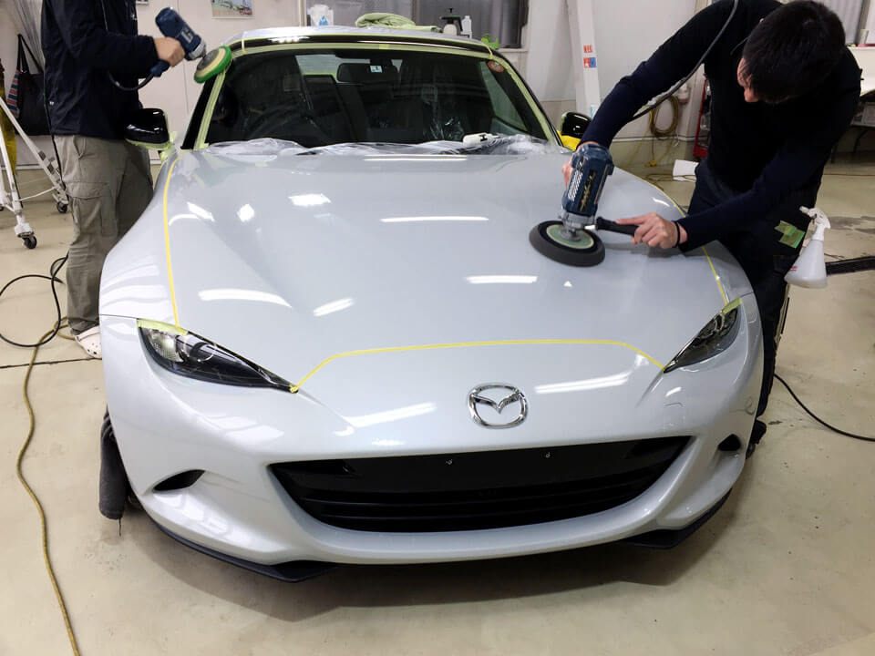 mazda ROADSTER coating kenma