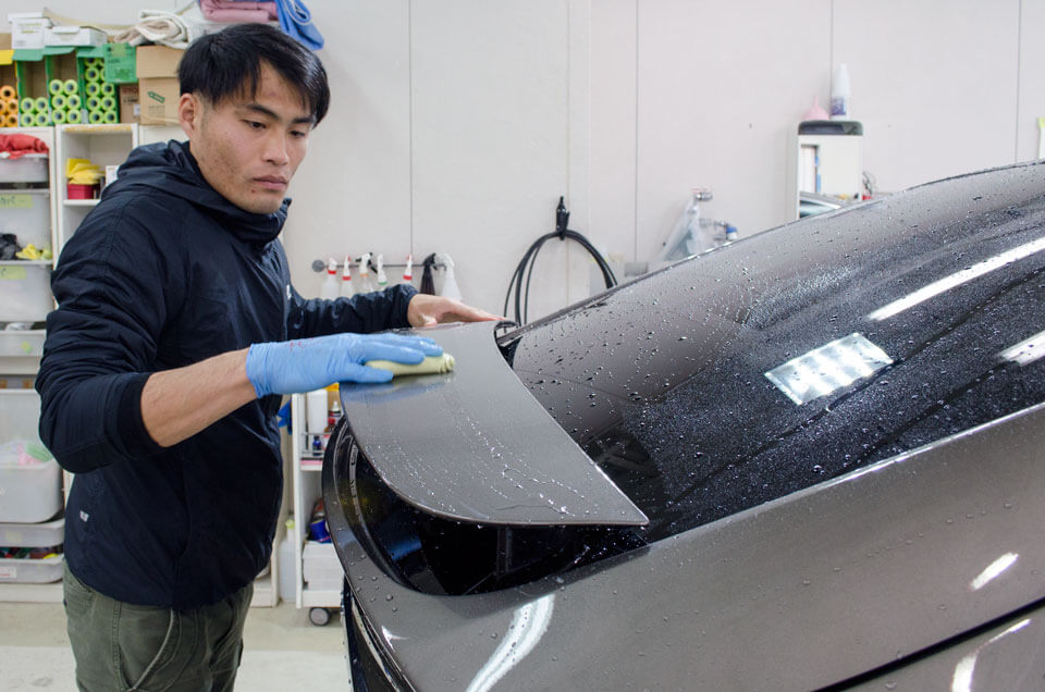tesla model coating