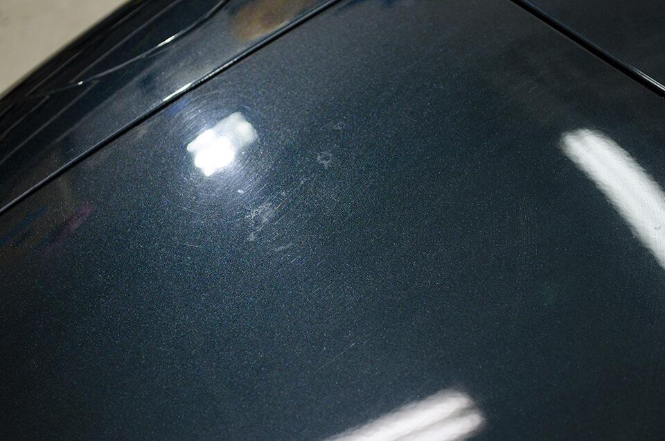 MAZDA ROADSTER NC型のボディにあった傷と水垢