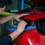 【プロテクションフィルム】BMW F20 3series ヘッドライト