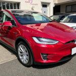 【透明断熱フィルム】Tesla Model X レッドマルチコート