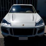 【ジェネシスガラスコーティング】Porsche Cayenne マットホワイト