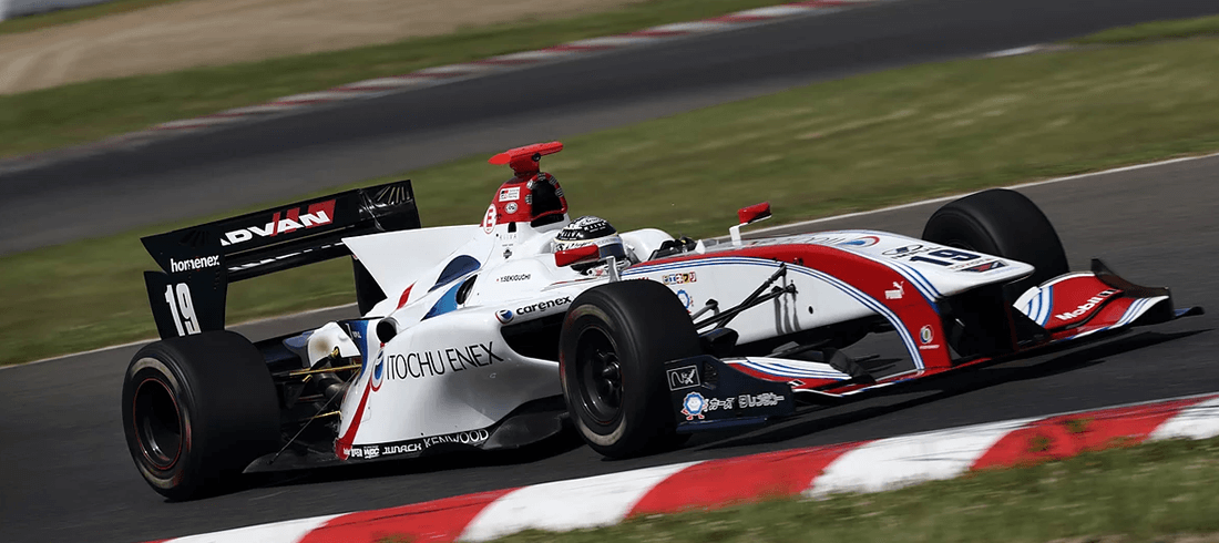 KUBEBONDがサポートするSUPER FORMULA ITOCHU ENEX TEAM IMPUL SF14
