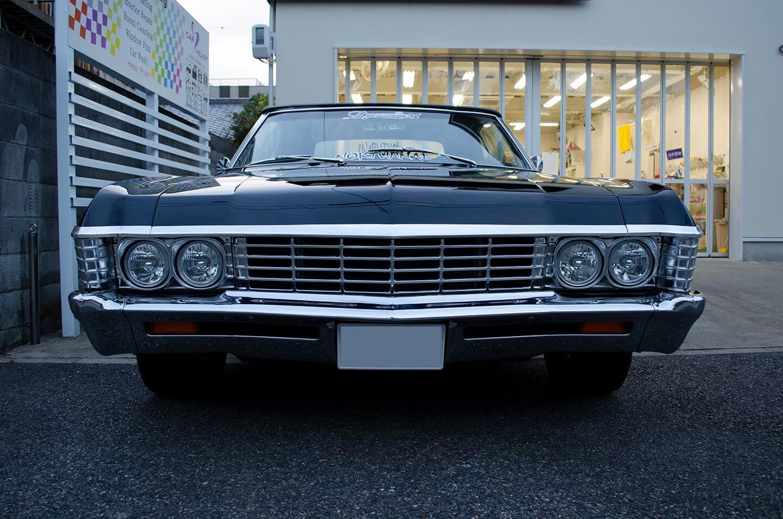 GENESIS コーティングを施工したBlackのCHEVROLET Impala 1967