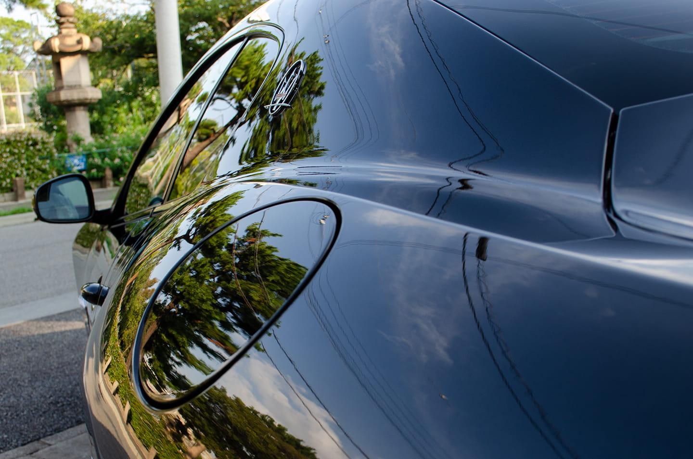 KUBEBOND DIAMOND9Hナノセラミックコーティングを施工したMaserati Gran Turismo