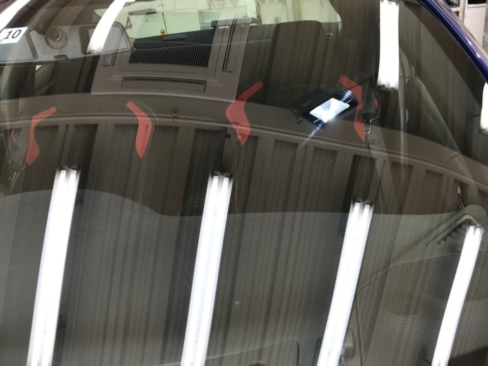 TOYOTA 86 フロントガラスについた傷