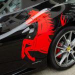 【ラッピング/デカール作成貼付】Ferrari California