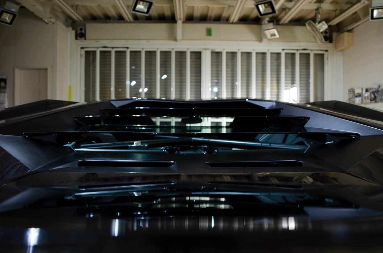 CARHEARTでコーティングしたLP740-4 Lamborghini Aventador S