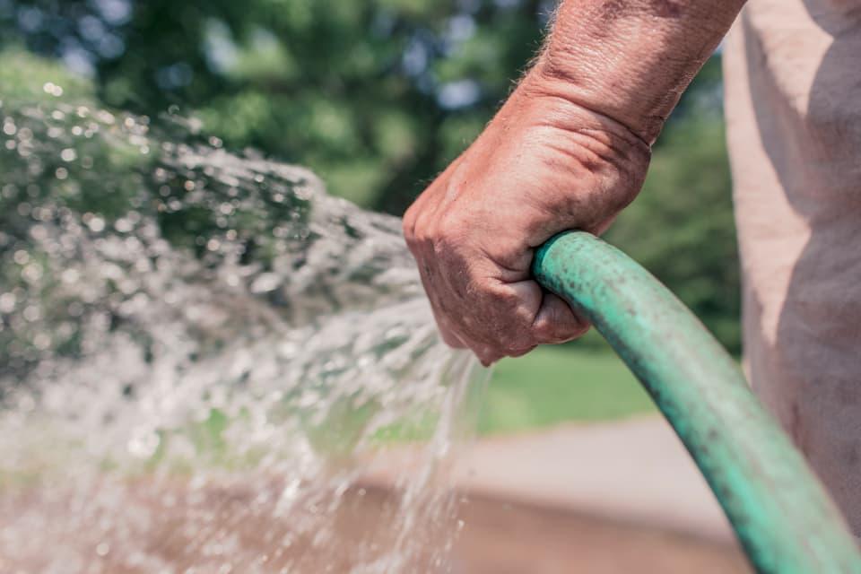 純水を使う洗車
