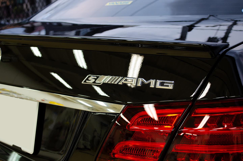 コーティングとルームクリーニングなどを施工したMercedes-AMG E63 S 4MATIC