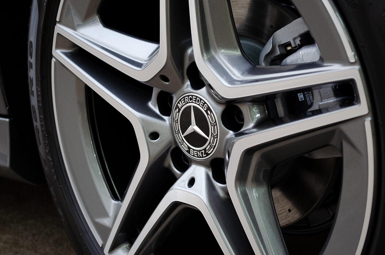 コーティングを施工したMercedes-Benz A180(W177) マウンテングレー ホイール
