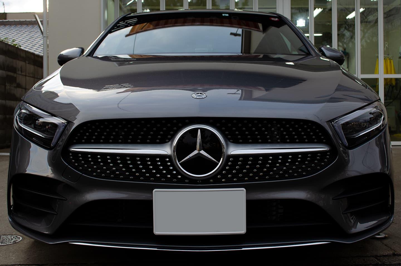 コーティングを施工したMercedes-Benz A180(W177) マウンテングレー
