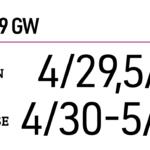 2019年 GW期間中 営業時間のお知らせ