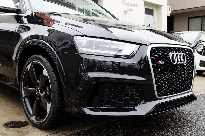 Audi RSQ3にコーティングを施工いたしました。