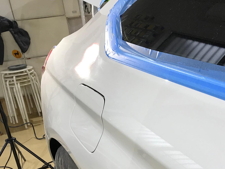 BMW 640i クーペ F13のくすんだボディ