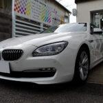 【メッキモール磨き,コーティング】2014年式 BMW 640i クーペ (F13)