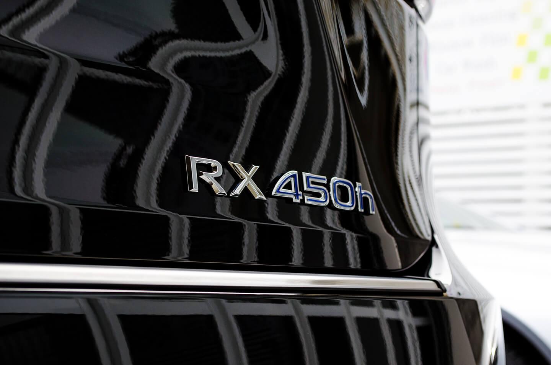 コーティングを施工したレクサス 4代目 RX450h