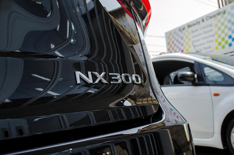 コーティングを施工したレクサス NX300