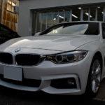 【ジェネシス ステラ ガラスコーティング】2016年式 BMW 420i (F36)