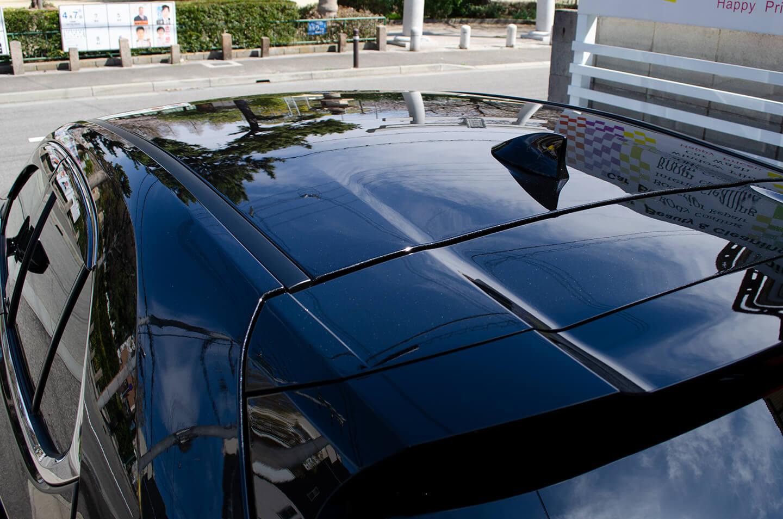 ボディ・ホイール・窓全面にコーティングを施工したLEXUS UX250h