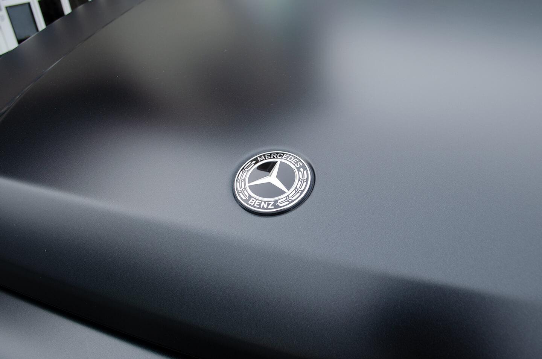 コーティングを施工したMercedes-AMG G63 エディションマットブラック