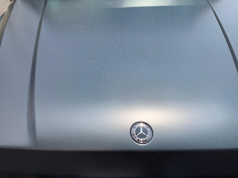 コーティングを施工する前のMercedes-AMG G63 エディションマットブラック