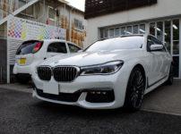 コーティングとフィルムを施工した BMW G11 750i