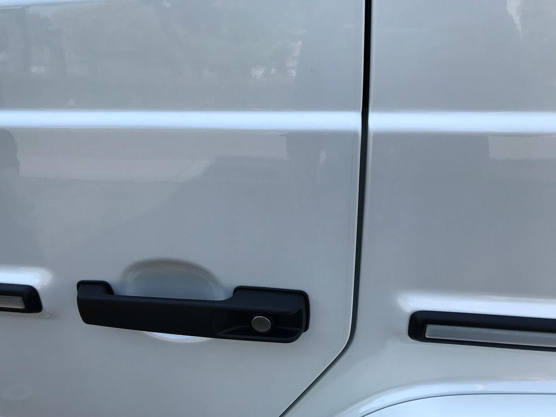 プロテクションフィルムを施工したメルセデス AMG G63のドアエッジ・ドアハンドル