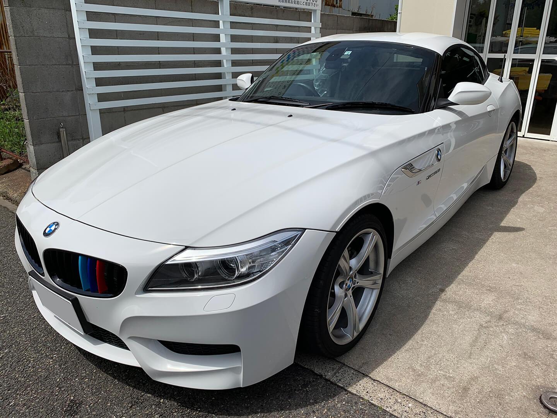 カーボンラッピングを施工する前 BMW Z4