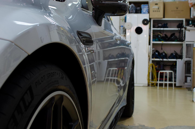 磨き終えたAMG GT 63S