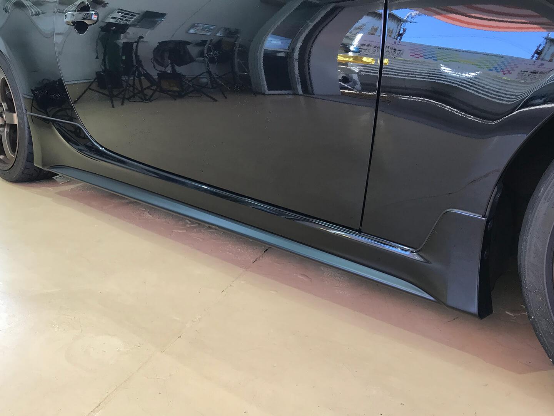 ラッピングを施工前のトヨタ 86