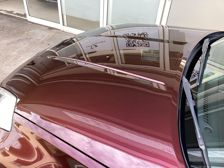 コーティングを施工したフェアレディZ Z33 プレミアムミスティックマルーン