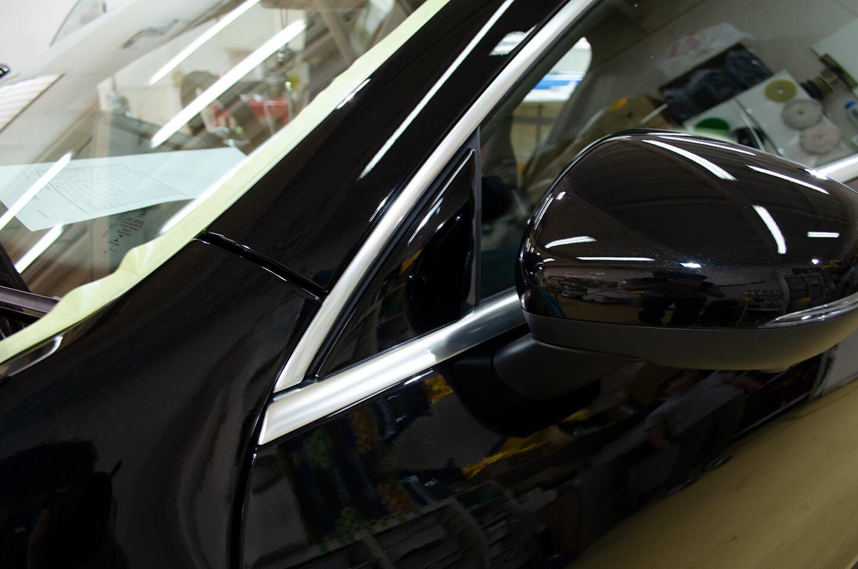メルセデス AMG CLA 45SのAピラー