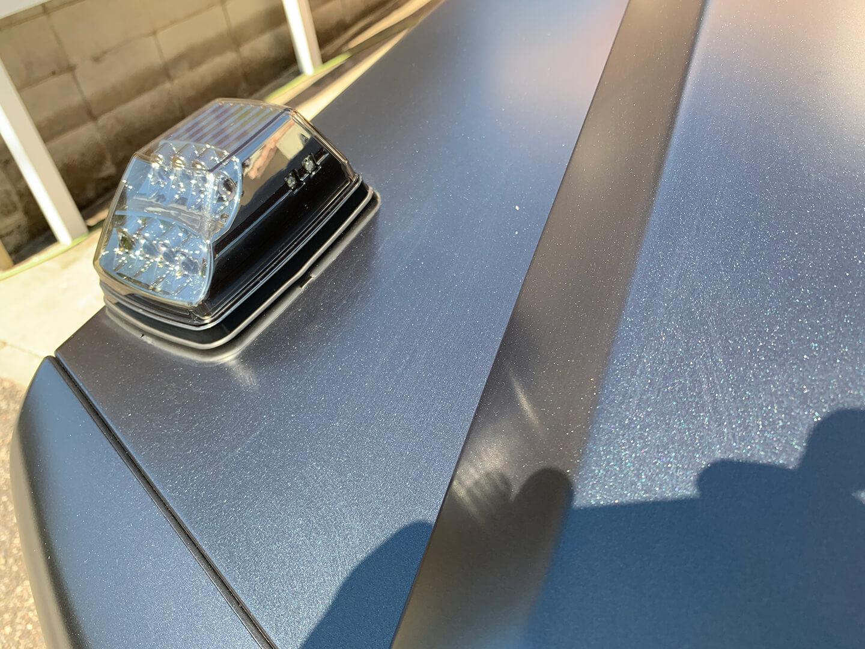コーティング前のメルセデス AMG G63 マットブラック