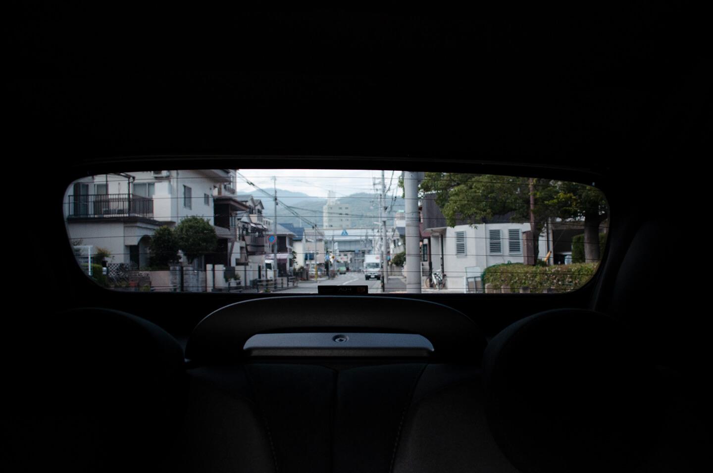 スモーク断熱フィルムと透明断熱フィルムを施工したアバルト 595C Pista